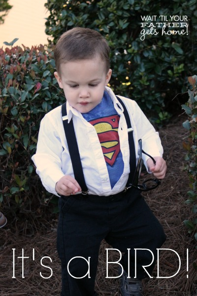Clark Kent / Superman Toddler Costume by Wait Til Your Father Gets Home
