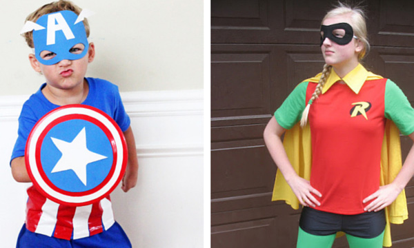 10 best superhero costumes that you can make yourself comic con family - Halloween Costumes That You Can Make Yourself