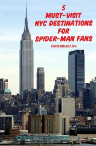 5 Must-Visit NYC Destinations for Spider-Man Fans