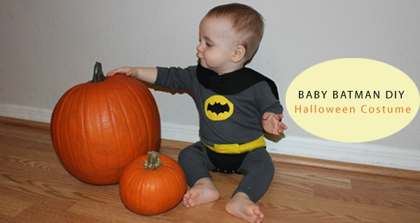 DIY Baby Batman Halloween Costume by Haberdashery Fun