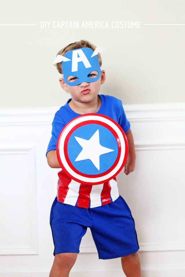 DIY Captain America Costume by In Honor of Design