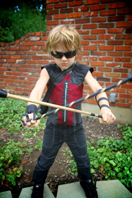 Avengers Hawkeye Costume by Life Sprinkled with Glitter