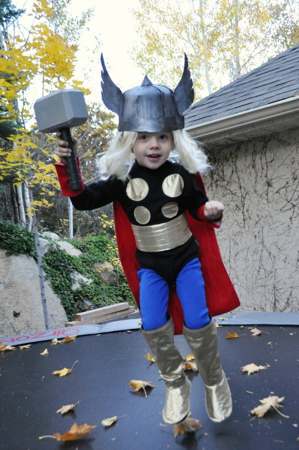 Thor Costume by I am Momma Hear Me Roar