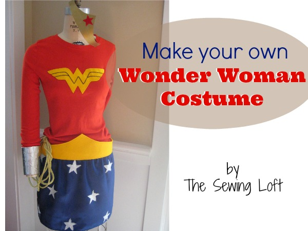 Wonder Woman Costume by The Sewing Loft
