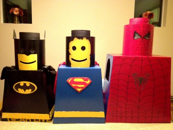 LEGO Man Superhero Halloween Costumes by by Gear Live