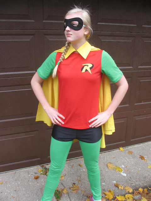 Robin Costume (of Batman & Robin) by Creative Chicks