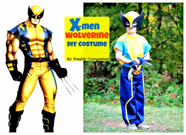 X-Men Wolverine DIY C ostume by Freshly Completed