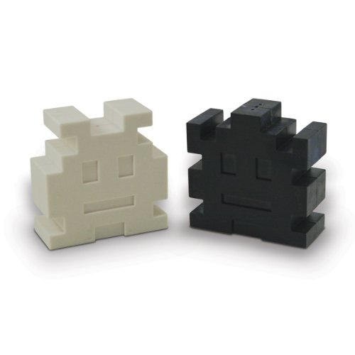 Space Invaders Retro Arcade Salt and Pepper Shakers
