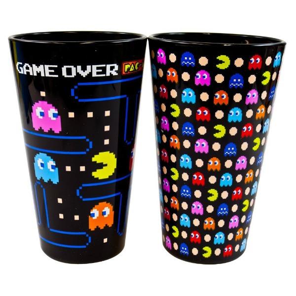 Pac-Man - Black 2 Pack Pint Glass Set