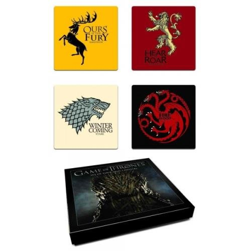 Game of Thrones: House Sigil Coaster Set