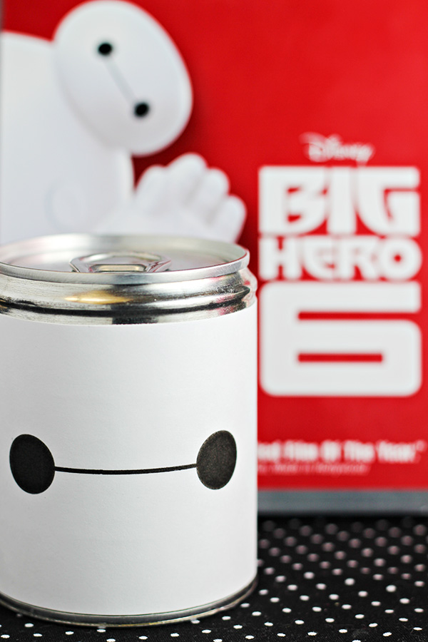 Big Hero 6 - Baymax Pop-Top Can Party Favors