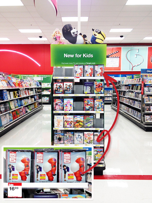 Disney's Big Hero 6 at Target