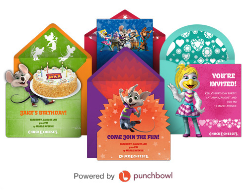 The 10 best chuck e cheese tips for families free chuck e cheese birthday party invitations 2 filmwisefo Gallery