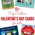 15+ Pop Culture Valentine's Day Cards for Kids