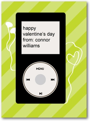 Gadget Greeting Valentine's Day Card
