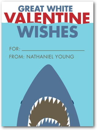 Great White Valentine Card
