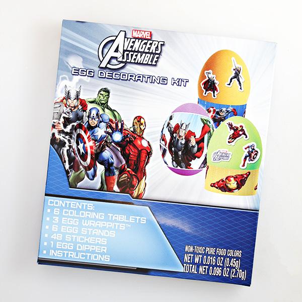 Marvel Avengers Egg Decorating Kit