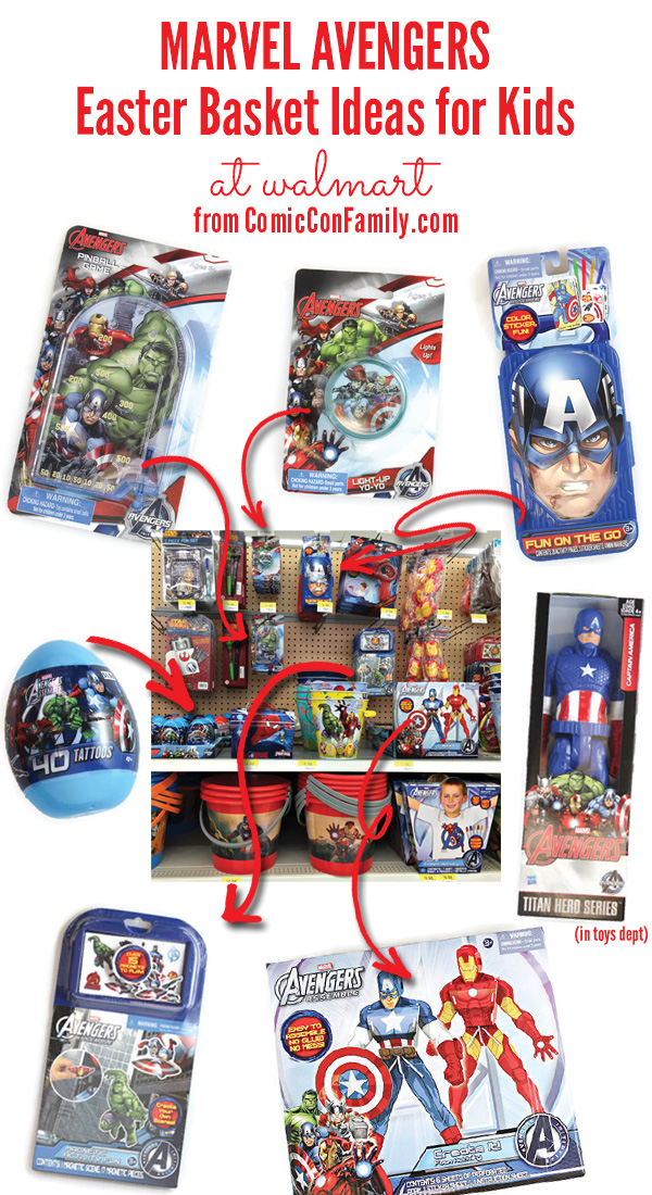 Easter basket ideas for kids marvel avengers comic con family marvel avengers easter basket ideas for kids at walmart 1 negle Image collections