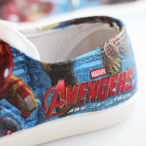How to Make DIY Avengers Superhero Shoes