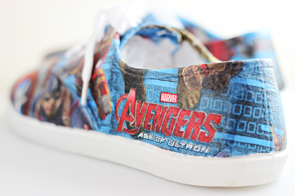 How to Make Avengers Superhero Shoes
