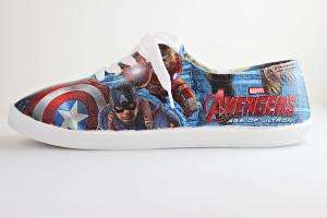 Craft Tutorial: DIY Avengers Superhero Shoes