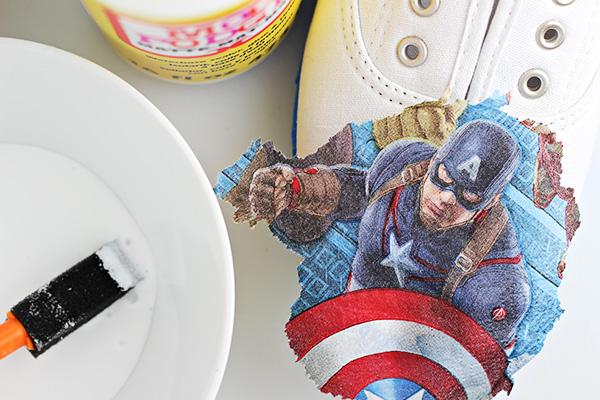 DIY Avengers Shoes 2