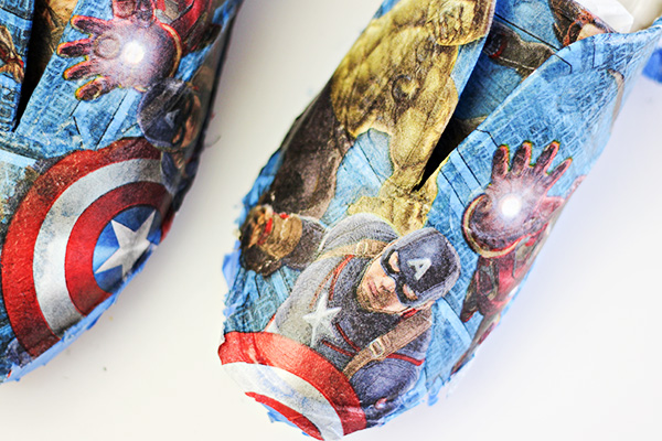 DIY Avengers Shoes