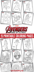 The Avengers - Age of Ultron Coloring Pages