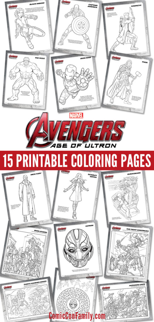 Free Kids Printables Marvel 39 s