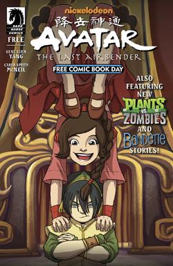 Free Avatar The Last Airbender Comic Book