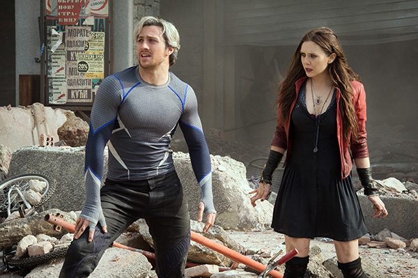 Avengers: Age of Ultron - Quicksilver and Scarlet Witch Relationship