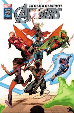 Free Avengers Comic Book