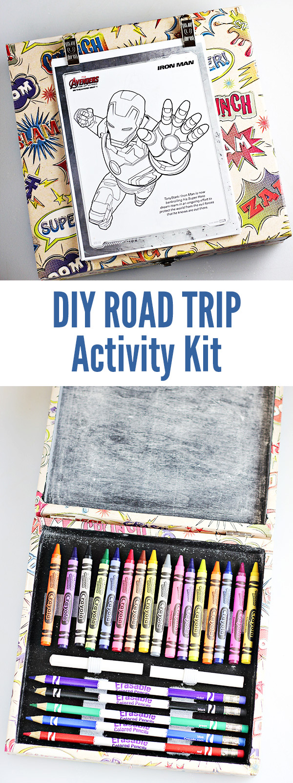 DIY Road Trip Activity Kit for Kids