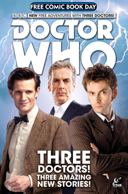 Free Doctor Who Comic Book