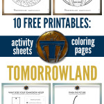 Free Kids Printable: Disney's TOMORROWLAND Activity Sheets & Games