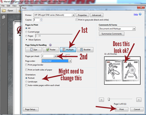 How To Print 2 Printables On 1 Sheet Of Paper PDF Files