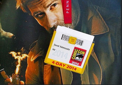 San Diego Comic-Con Badge