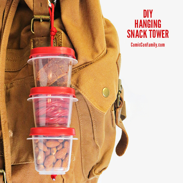 DIY Hanging Snack Tower