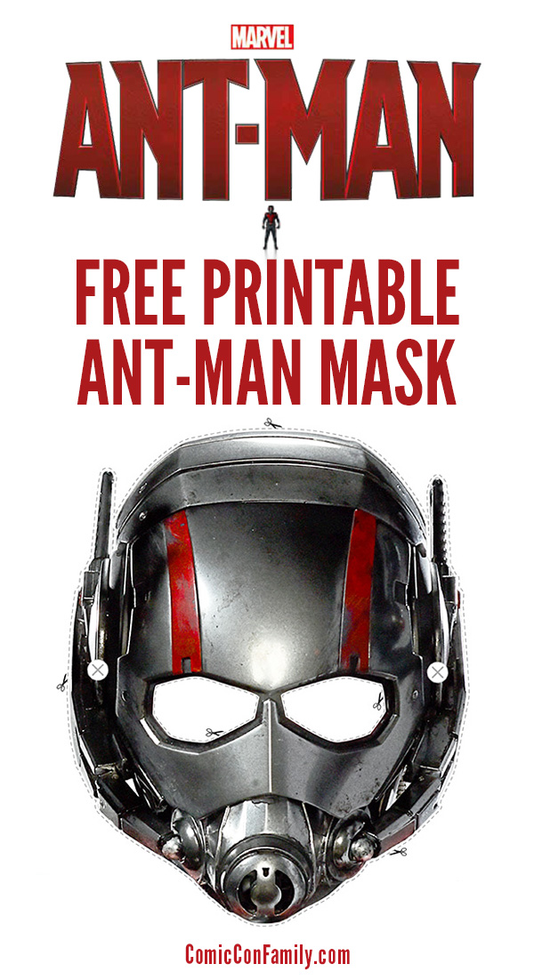 Free Kids Printable: Ant-Man Mask