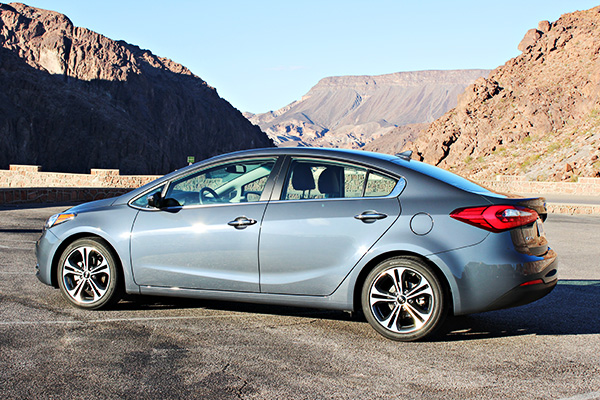 Visiting Hoover Dam with the Kia Forte