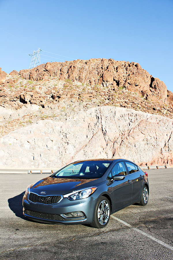 Visiting Hoover Dam in the 2015 Kia Forte