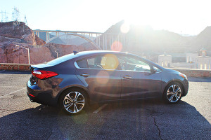 Hoover Dam Road Trip in the 2015 Kia Forte EX