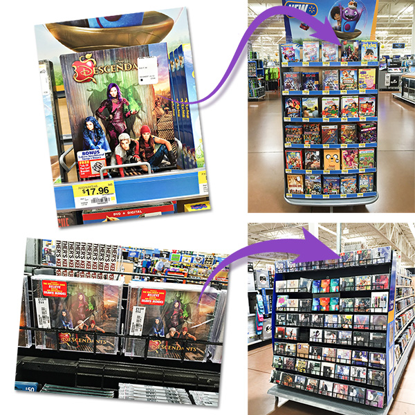 Disney's Descendants DVD and Soundtrack at Walmart