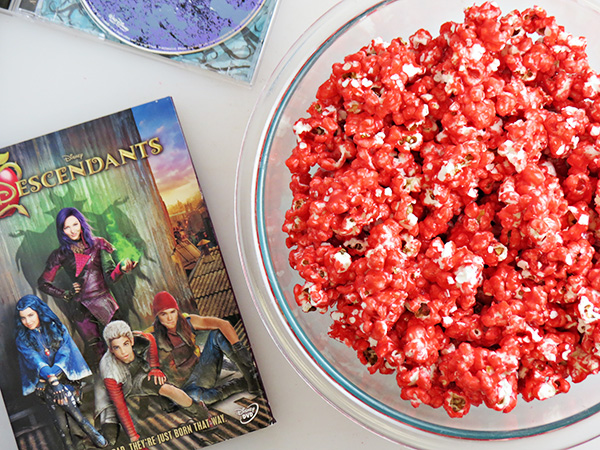 Disney's Descendants - Wicked Apple Popcorn