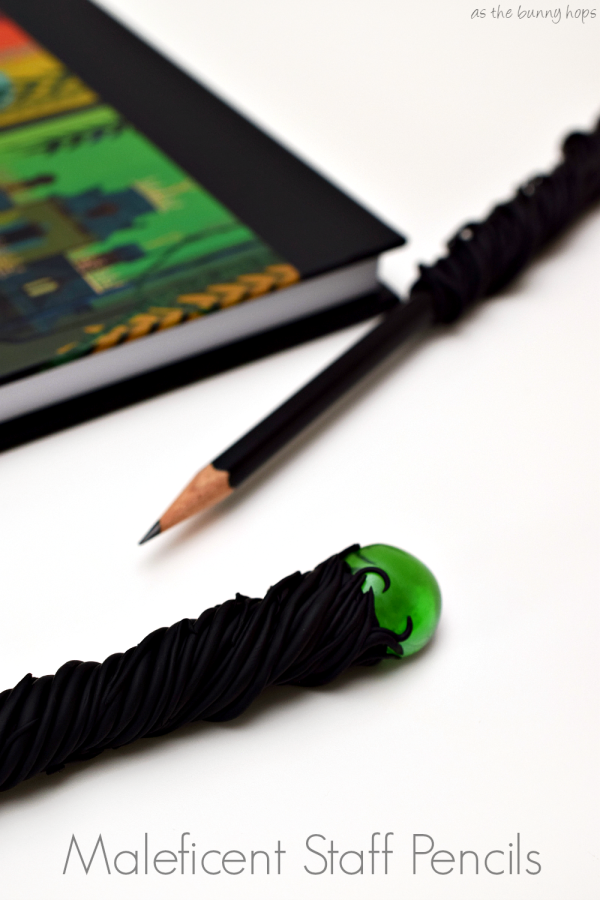 Maleficent Staff Pencil by As the Bunny Hops