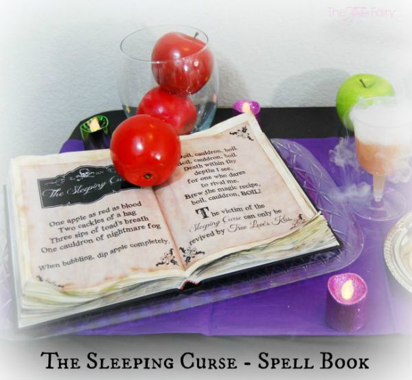 DIY Disney Descendants Spell Book by The Tip Toe Fairy