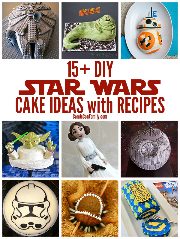 Diy Star Wars Birthday Cake