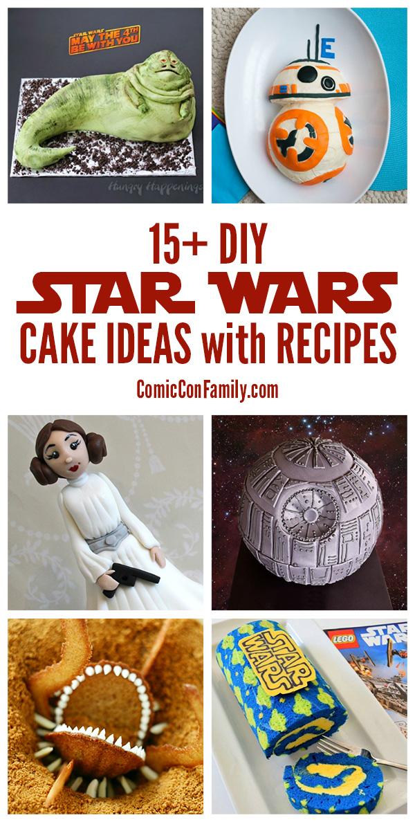 15 Diy Star Wars Cake Ideas With Recipes