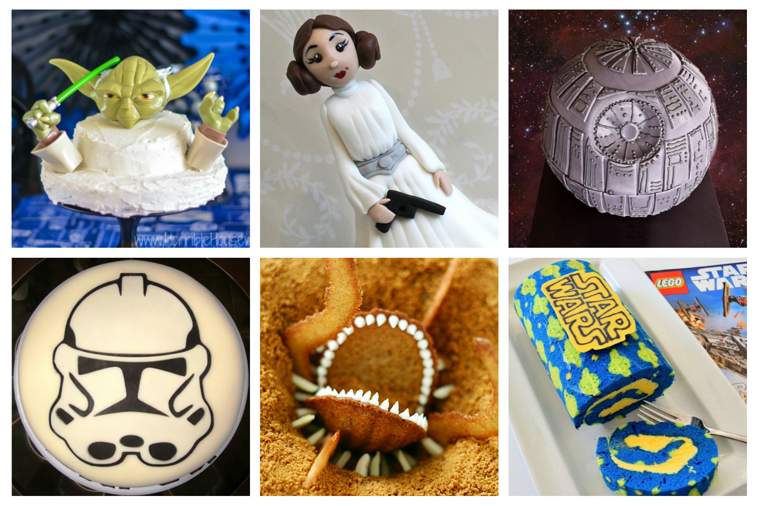 Easy To Make Star Wars Cakes