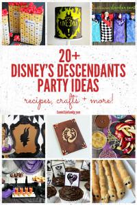 20+ Disney Descendants Party Ideas: Recipes, Crafts + More!